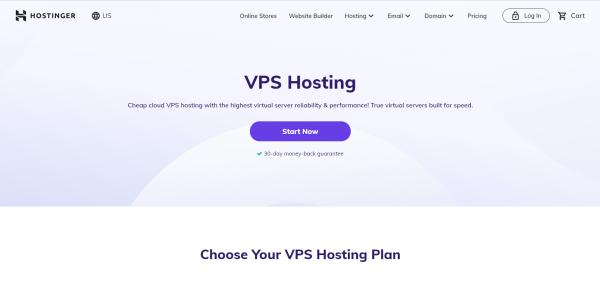 Hostinger VPS1 Hosting