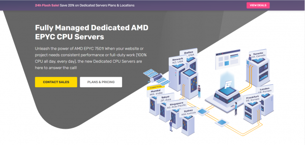 Fastcomet DS 1 Managed Dedicated AMD CPU Servers
