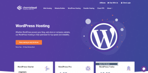 Chemicloud WordPress Starter WordPress Hosting