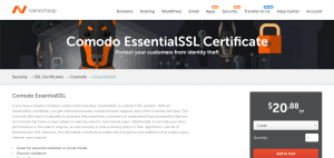 Comodo Essential SSL Certificates
