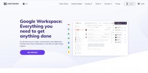 Hostinger Google Workspace Email Hosting