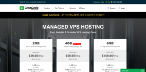 GreenGeeks 2GB Managed VPS Hosting