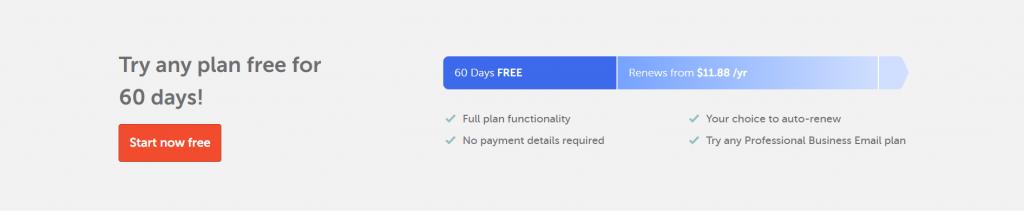 Namecheap Email Hosting Starter Plan