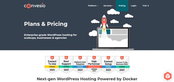 Convesio Managed WordPress Hosting