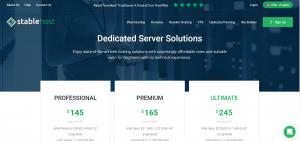 Stablehost Dedicated Server